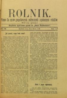 Rolnik, 1909, R. 16, nr 10