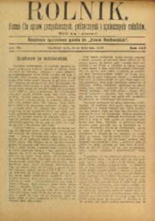 Rolnik, 1909, R. 16, nr 14