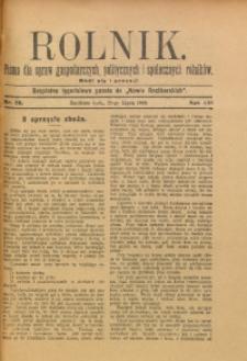 Rolnik, 1909, R. 16, nr 29