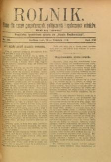 Rolnik, 1909, R. 16, nr 39