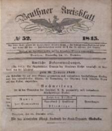 Beuthner Kreisblatt, 1845, No 52