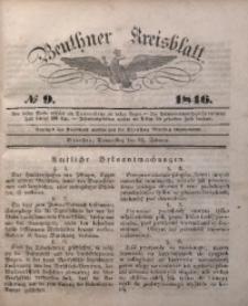 Beuthner Kreisblatt, 1846, No 9
