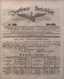 Beuthner Kreisblatt, 1846, No 16