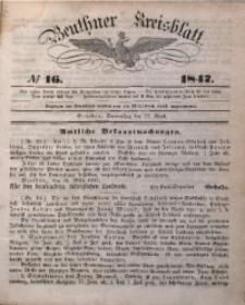 Beuthner Kreisblatt, 1847, No 16
