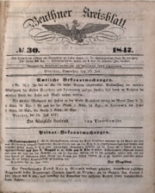 Beuthner Kreisblatt, 1847, No 30