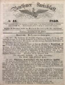 Beuthner Kreisblatt, 1850, No 41