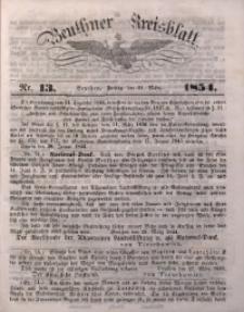 Beuthner Kreisblatt, 1854, Nr. 13
