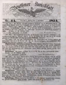 Beuthner Kreisblatt, 1854, Nr. 44
