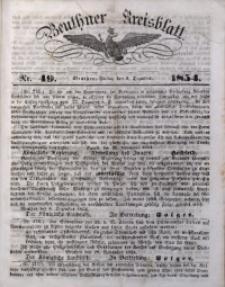 Beuthner Kreisblatt, 1854, Nr. 49