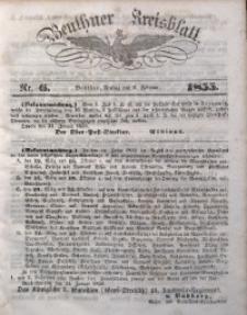 Beuthner Kreisblatt, 1855, Nr. 6