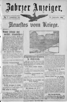 Zabrzer Anzeiger, 1914, Nr. 77
