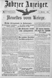 Zabrzer Anzeiger, 1914, Nr. 107
