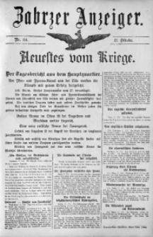 Zabrzer Anzeiger, 1914, Nr. 124