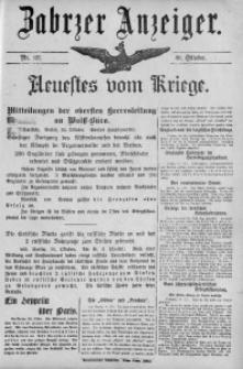 Zabrzer Anzeiger, 1914, Nr. 127 (30. Oktober)