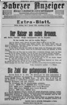 Zabrzer Anzeiger, 1915, Extra-Blatt (1. Januar–1. April)
