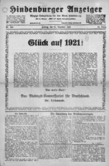Hindenburger Anzeiger, 1920, Jg. 49, Nr. 300