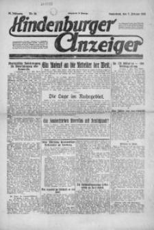 Hindenburger Anzeiger, 1921, Jg. 50, Nr. 34