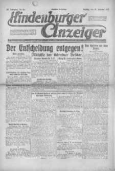Hindenburger Anzeiger, 1921, Jg. 50, Nr. 54