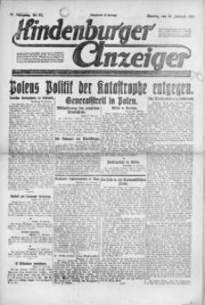 Hindenburger Anzeiger, 1921, Jg. 50, Nr. 57