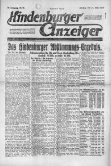 Hindenburger Anzeiger, 1921, Jg. 50, Nr. 78
