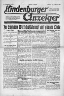 Hindenburger Anzeiger, 1921, Jg. 50, Nr. 91
