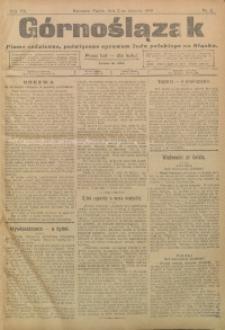 Górnoślązak, 1908, R. 7, nr 2