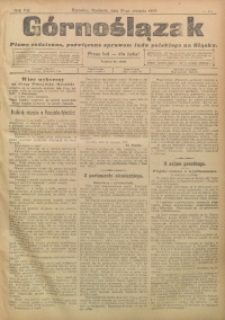 Górnoślązak, 1908, R. 7, nr 15