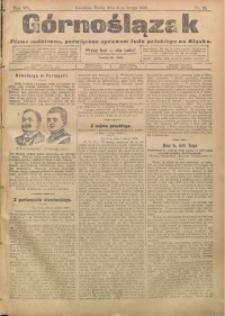 Górnoślązak, 1908, R. 7, nr 29