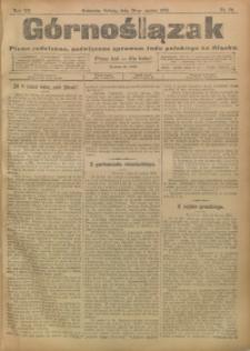 Górnoślązak, 1908, R. 7, nr 73