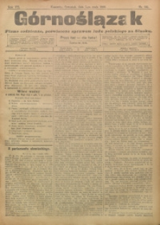 Górnoślązak, 1908, R. 7, nr 105