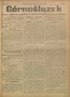 Górnoślązak, 1908, R. 7, nr 127