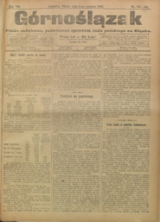 Górnoślązak, 1908, R. 7, nr 128/129