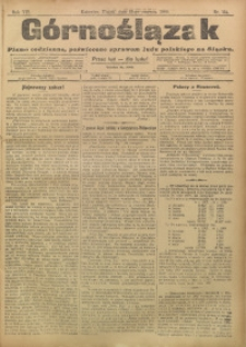 Górnoślązak, 1908, R. 7, nr 134