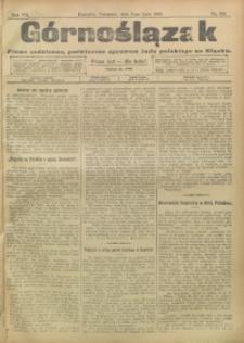 Górnoślązak, 1908, R. 7, nr 155