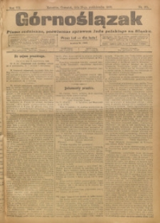 Górnoślązak, 1908, R. 7, nr 251