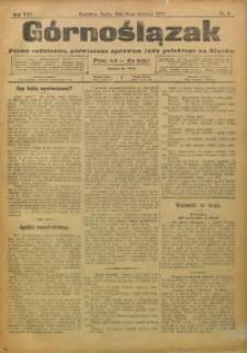 Górnoślązak, 1909, R. 8, Nr. 9