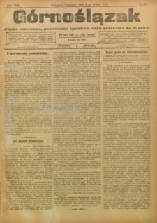 Górnoślązak, 1909, R. 8, Nr. 51