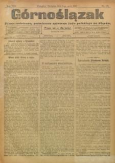 Górnoślązak, 1909, R. 8, Nr. 105