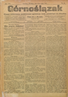 Górnoślązak, 1909, R. 8, Nr. 111