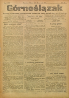 Górnoślązak, 1909, R. 8, Nr. 115