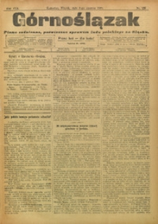 Górnoślązak, 1909, R. 8, Nr. 128