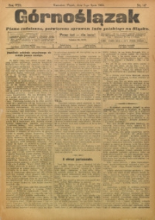 Górnoślązak, 1909, R. 8, Nr. 147