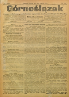 Górnoślązak, 1909, R. 8, Nr. 277