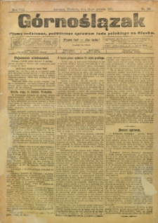 Górnoślązak, 1909, R. 8, Nr. 284