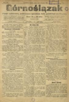 Górnoślązak, 1910, R. 9, Nr. 1