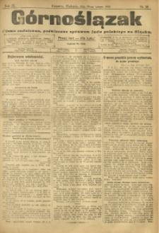 Górnoślązak, 1910, R. 9, Nr. 35