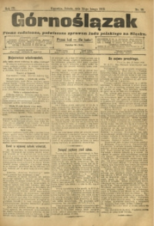Górnoślązak, 1910, R. 9, Nr. 46