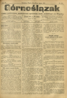 Górnoślązak, 1910, R. 9, Nr. 69