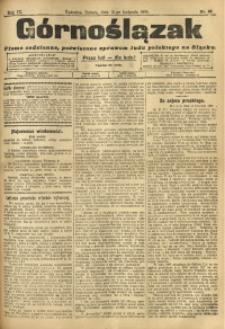 Górnoślązak, 1910, R. 9, Nr. 86