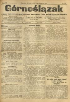 Górnoślązak, 1910, R. 9, Nr. 88